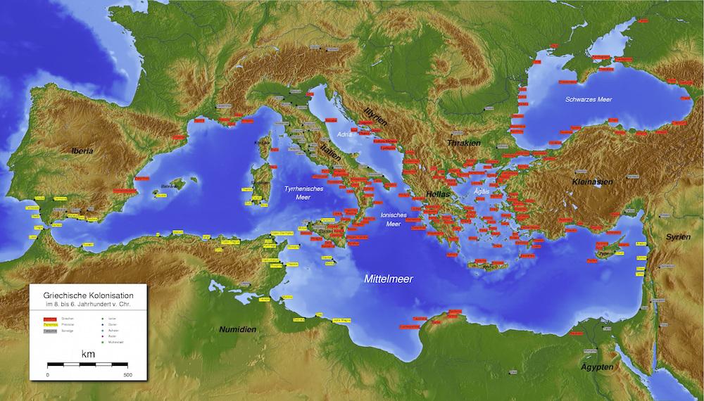 Wielka kolonizacja grecka